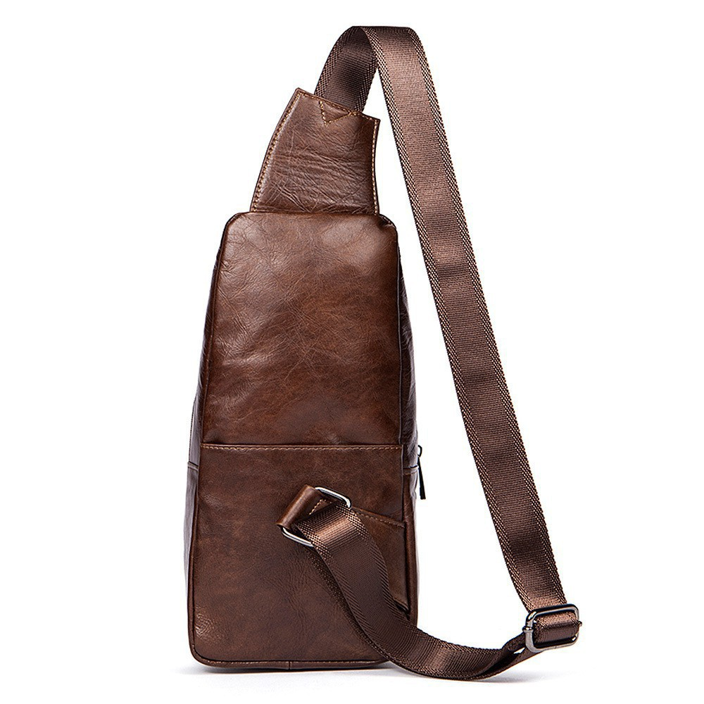 8adef03c15df Men Fashion Sling Bag Chest Bag Chest Pack Male Casual Bag