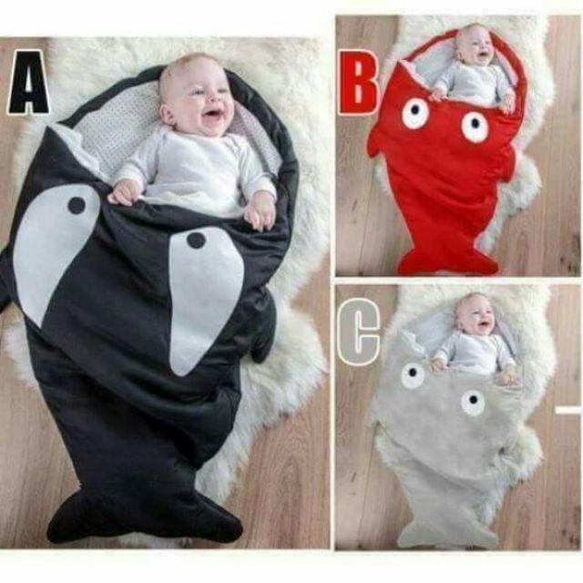 cheap for discount ae19d 1b7e1 Shark Bites Baby Sleeping Bag