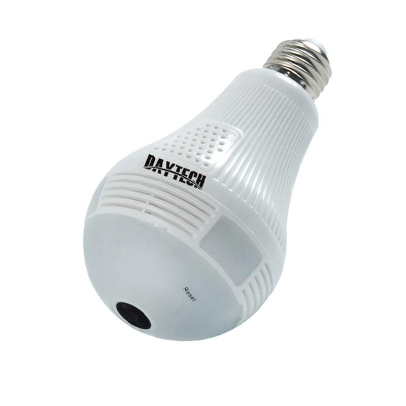 IP Camera CCTV 360° Panoramic LED Bulb Light Wireless Camera