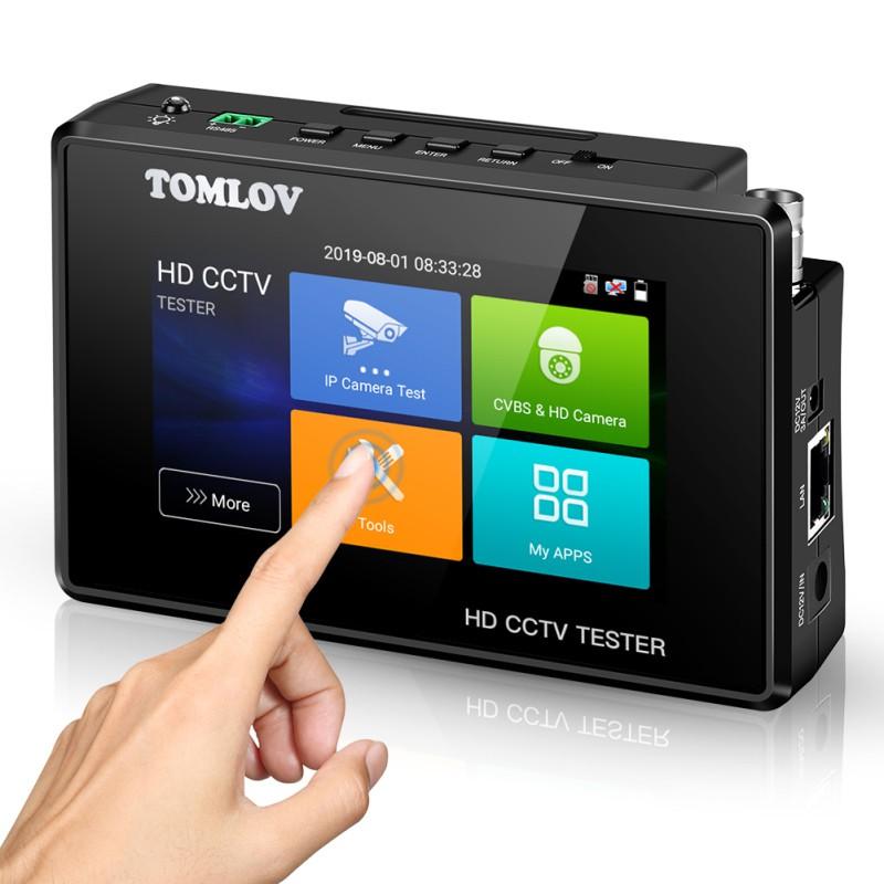 4Inch CCTV Tester Monitor Support TVI CVI AHD CVBS MPEG IP