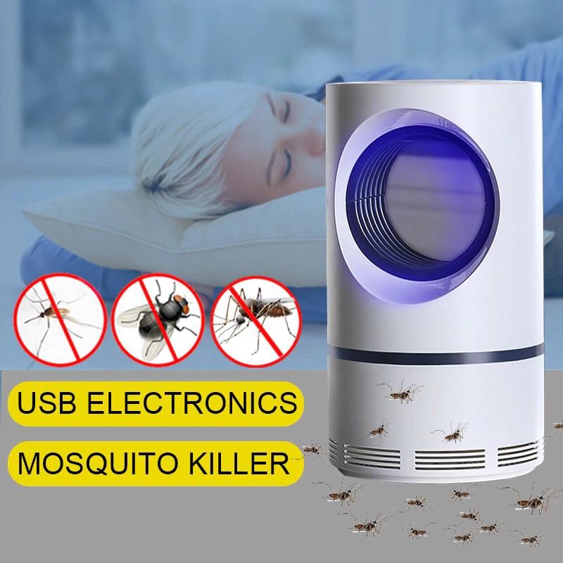 Electric LED Mosquito Lamp Night Light USB Anti Bug Trap Lantern Repellent Lamp