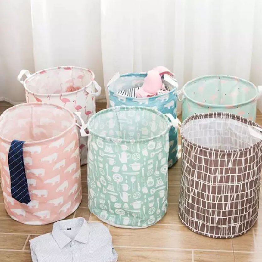 Laundry Basket Foldable Hamper Clothes