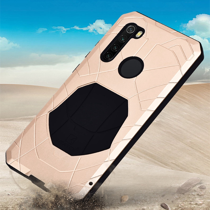 Daily Waterproof Case Xiaomi Redmi Note 8 Pro Metal Bumper Silicone Cover 360 Full Protection Cases Shopee Philippines