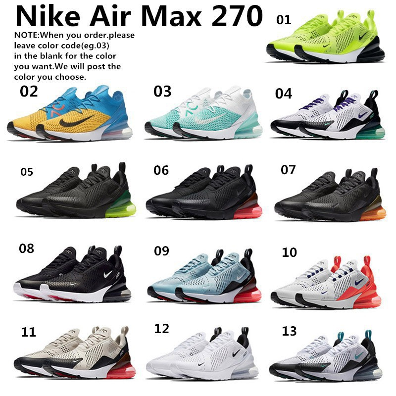 80d16a9b7d079 ready stock original Nike Air Max 270 unisex running shoes s | Shopee  Philippines
