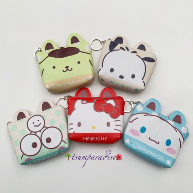 *1pc* Coin Purse Pouch Kuromi Keroppi Chip Dale Melody