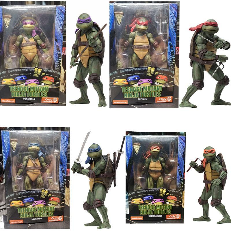 Raphael Teenage Mutant Ninja Turtles 1990 Movie TMNT 18cm Action Figur NECA