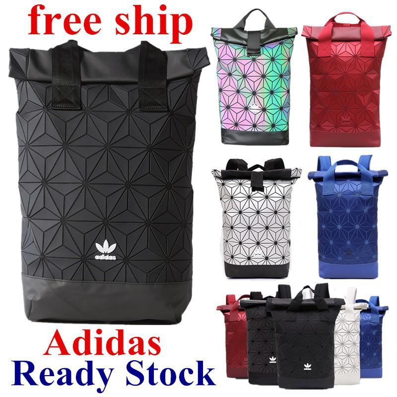 7b84c72f689c Adidas x Issey Miyake 3D Mesh bags Red