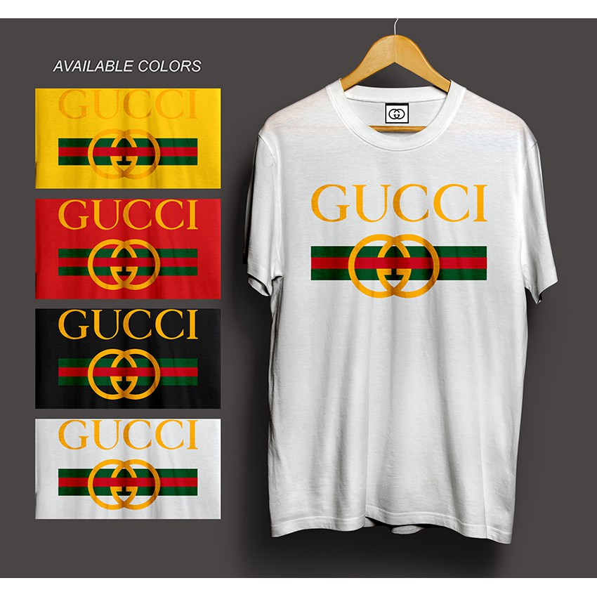 308316eb2f1 Gucci logo shirt Streetwear palace assc supreme lv black