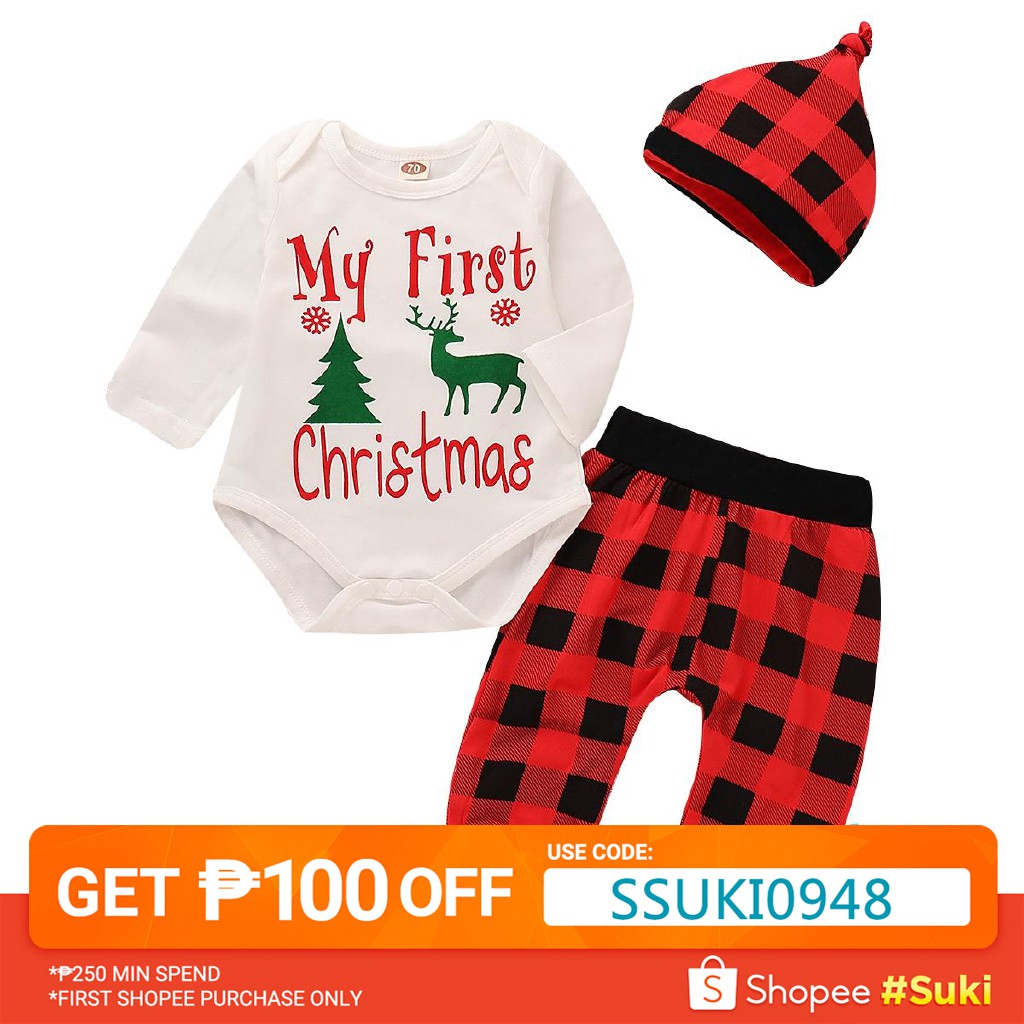 dfd0c6d30c7f9 HAN-The New Hot Selling Christmas Newborn Baby Boy Girl