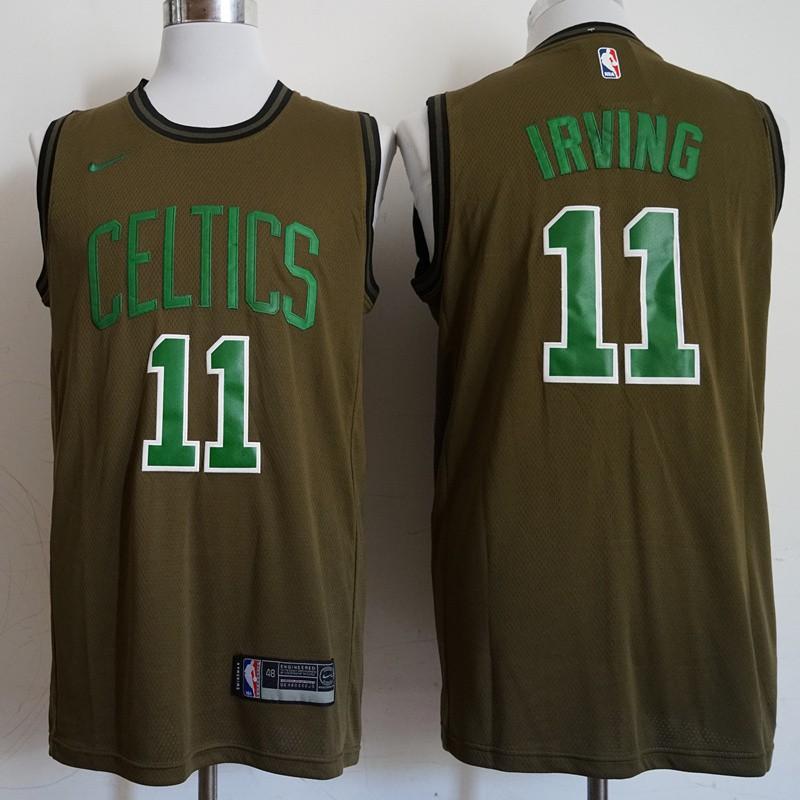 free shipping 5344b 9cf5b Nike Kyrie Irving #11 Boston Celtics NBA Jersey discount