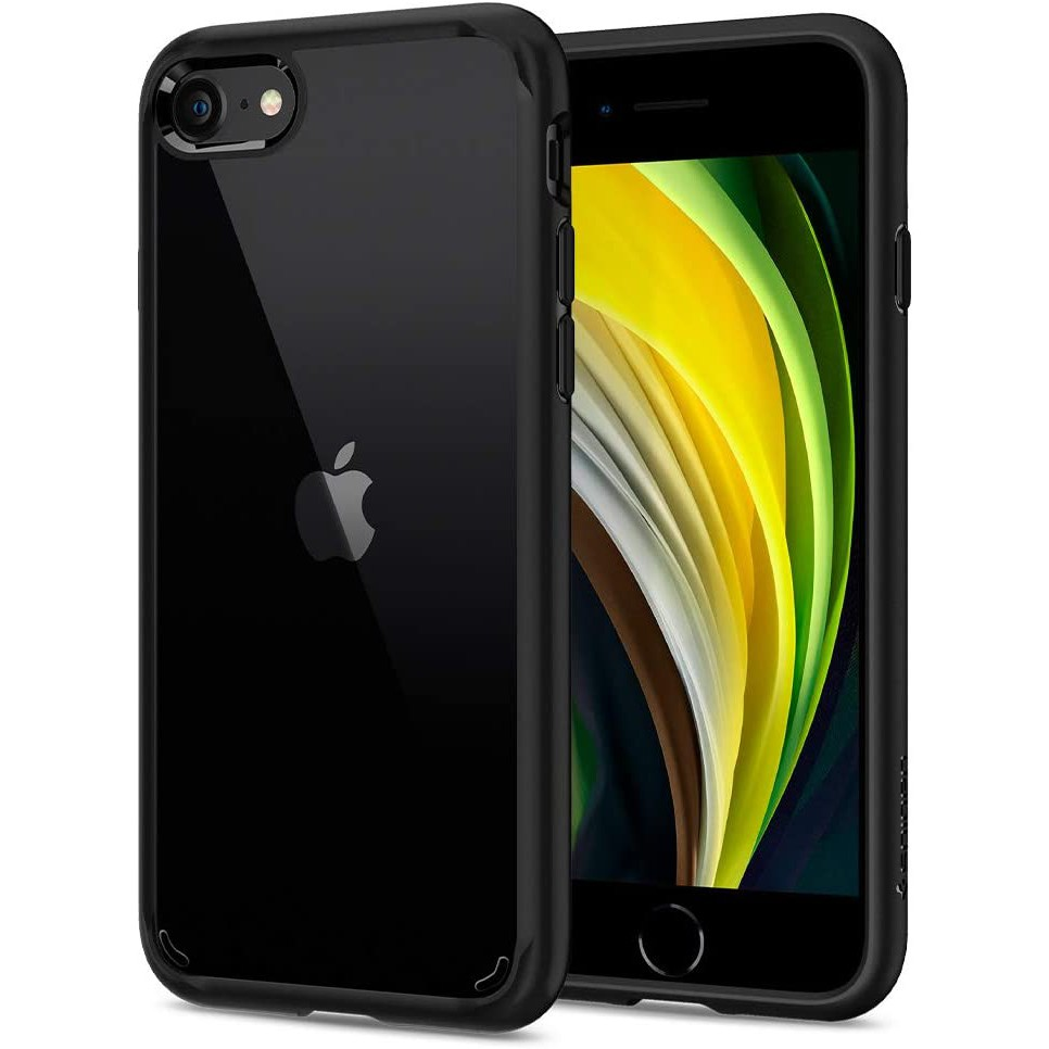 Spigen iPhone SE (2020) / 8 / 7 Case Ultra Hybrid 2 Black ...