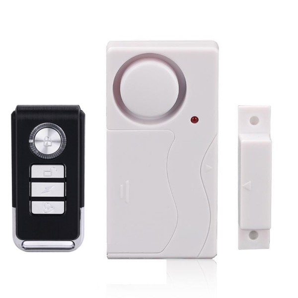 Wireless Anti Theft Door And Window Alarms With Remote Control Shopee Philippines