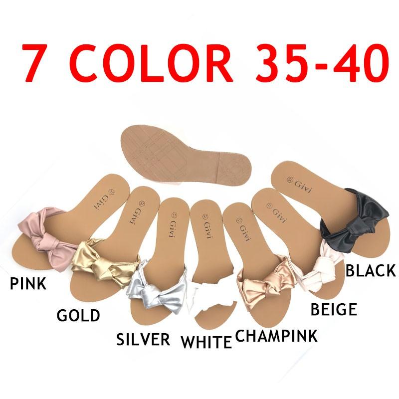 Style Ms New Givi Box Sandal Slipon Slipper Flat Arrival rhxsdtQC