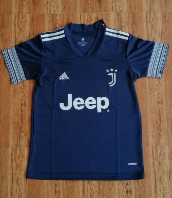 Juventus Jeep Away Version Blue Football Kit Shopee Philippines