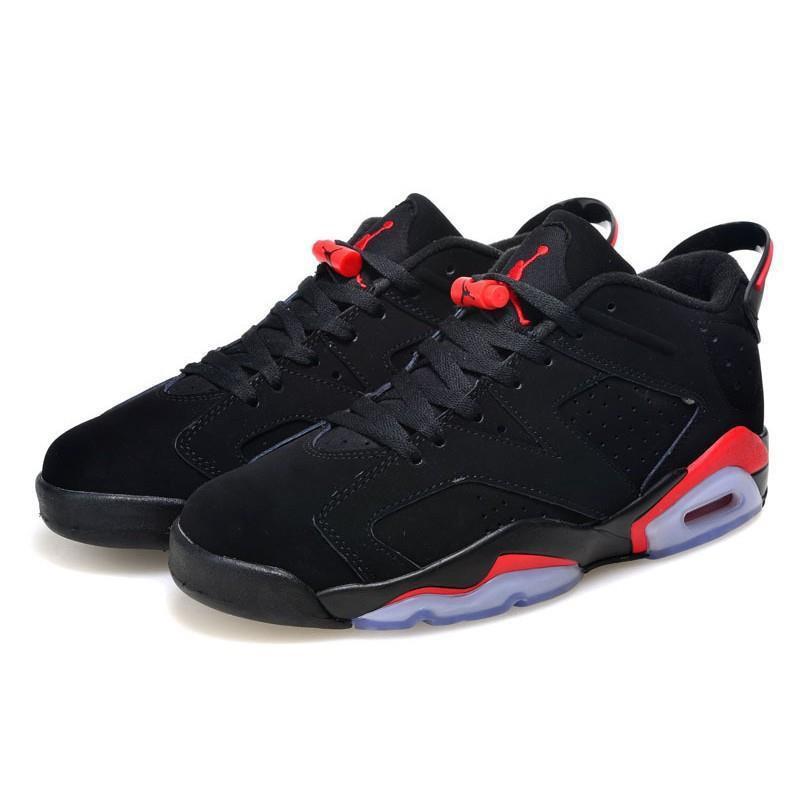 best cheap 3286c f9282 suyi original Nike Air Jordan 6 Low Black Infrared 23 fashion
