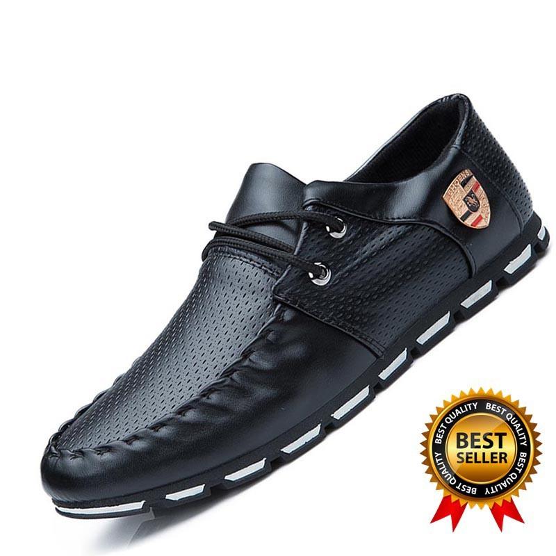 d31847d0883 Men Casual Shoes Moccasins Leather Driving Formal Shoes