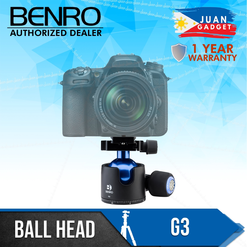 G3 Benro Low-Profile Triple Action Ball Head