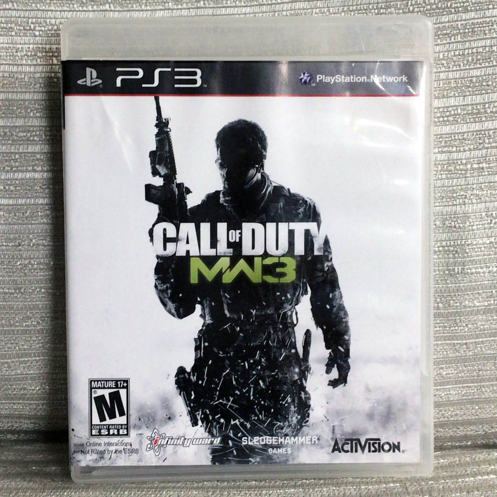 Call Of Duty Modern Warfare 3 Ps3 Playstation 3 Video Game