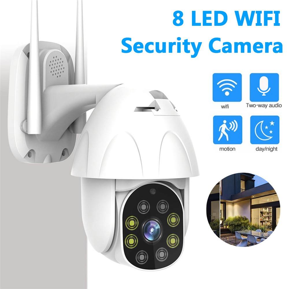 HD 1080P Outdoor Waterproof WiFi PTZ Pan Tilt Security IP IR Camera