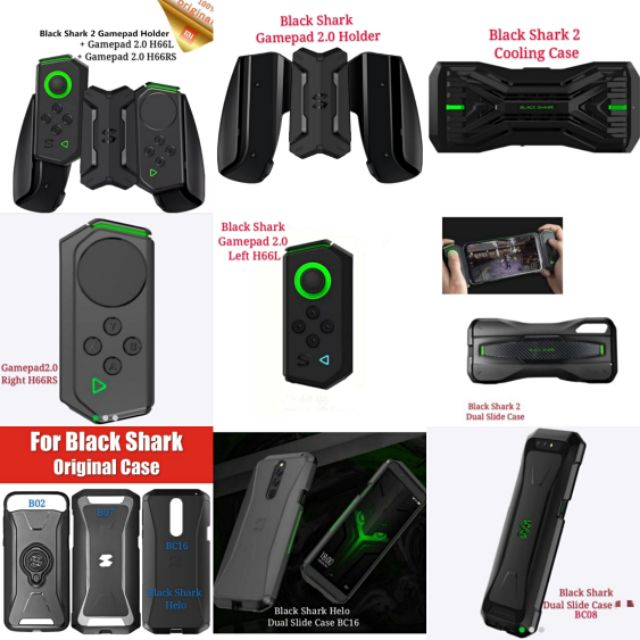 Black Shark 2 Pro Helo Gamepad Controller Joystick Cooling ...