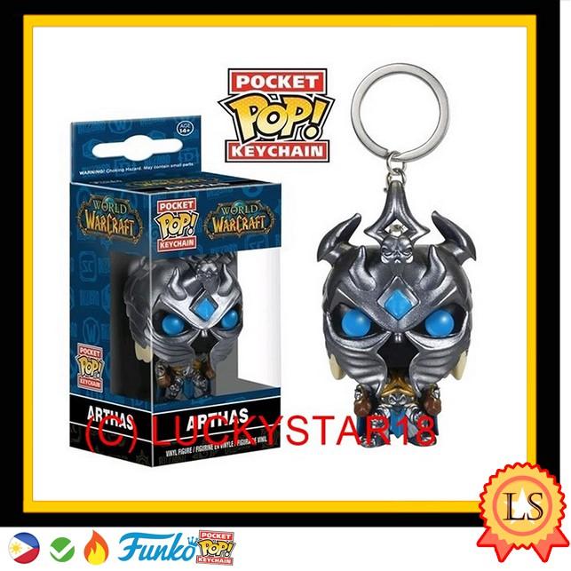 FUNKO World of Warcraft Pocket Pop Keychain Arthas NEW IN STOCK!