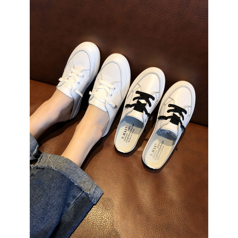 Net Red H Rhinestone Slippers Female 2019 Summer New Personality Thick Bottom Korean Fashion Ina Port Wind Lazy Shoes