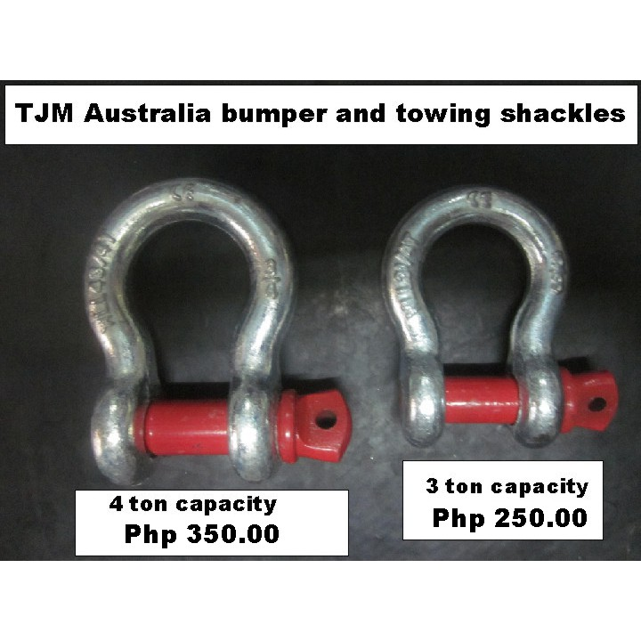"""3//4/"""" Shackle Screw Pin Anchor Bow D 4x4 OFF ROAD Recovery Towing Tow Strap Chain"""