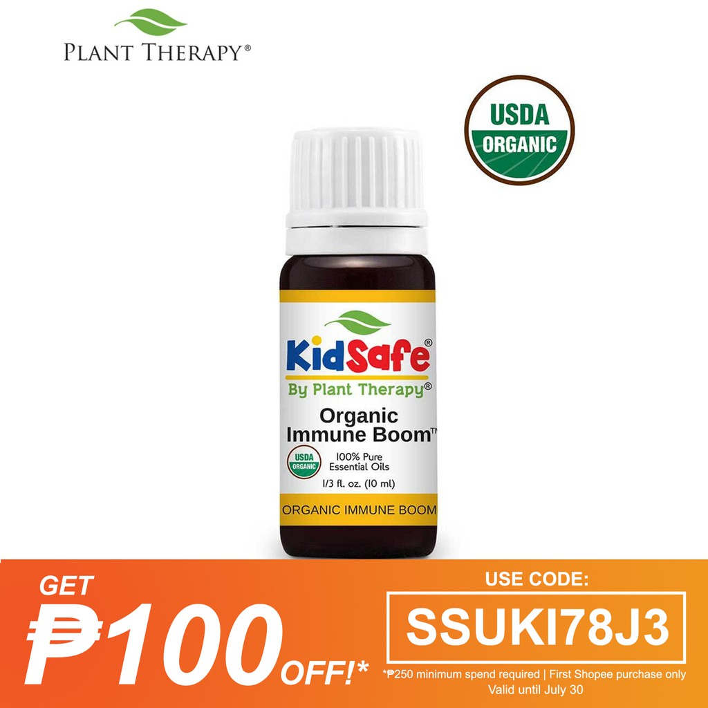 Plant Therapy Immune Boom Organic Essential Oil 10 mL
