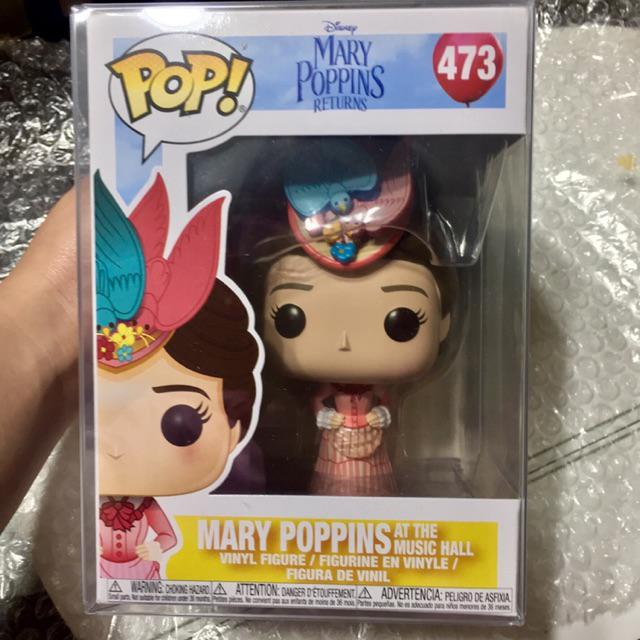 Funko Pop Disney Pink Dress Mary Poppins Returns Mary at The Music Hall