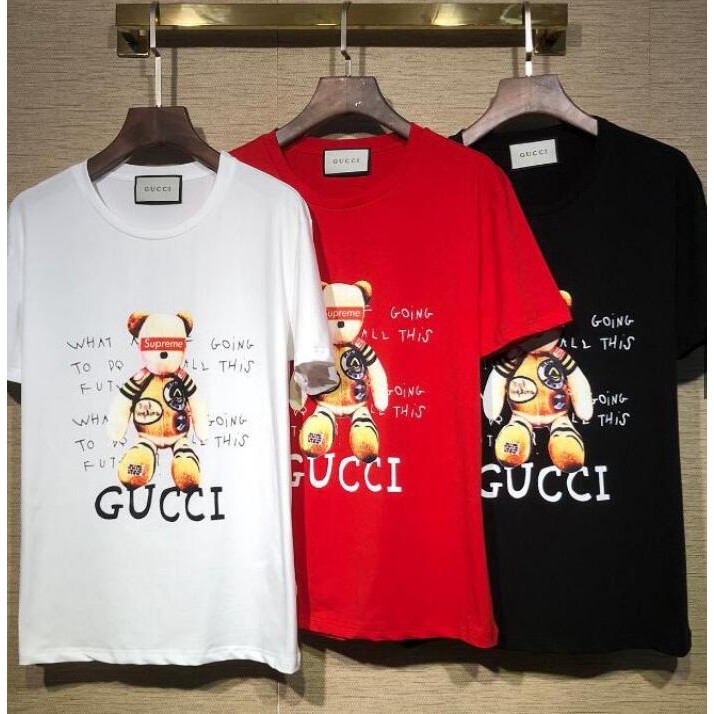 914c2107 Gucci sequin rabbit short-sleeved T-shirt | Shopee Philippines