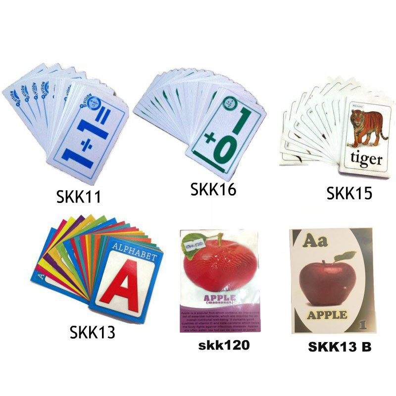 Early Learning Kid's Baby Toddler Alphabet Flash Cards