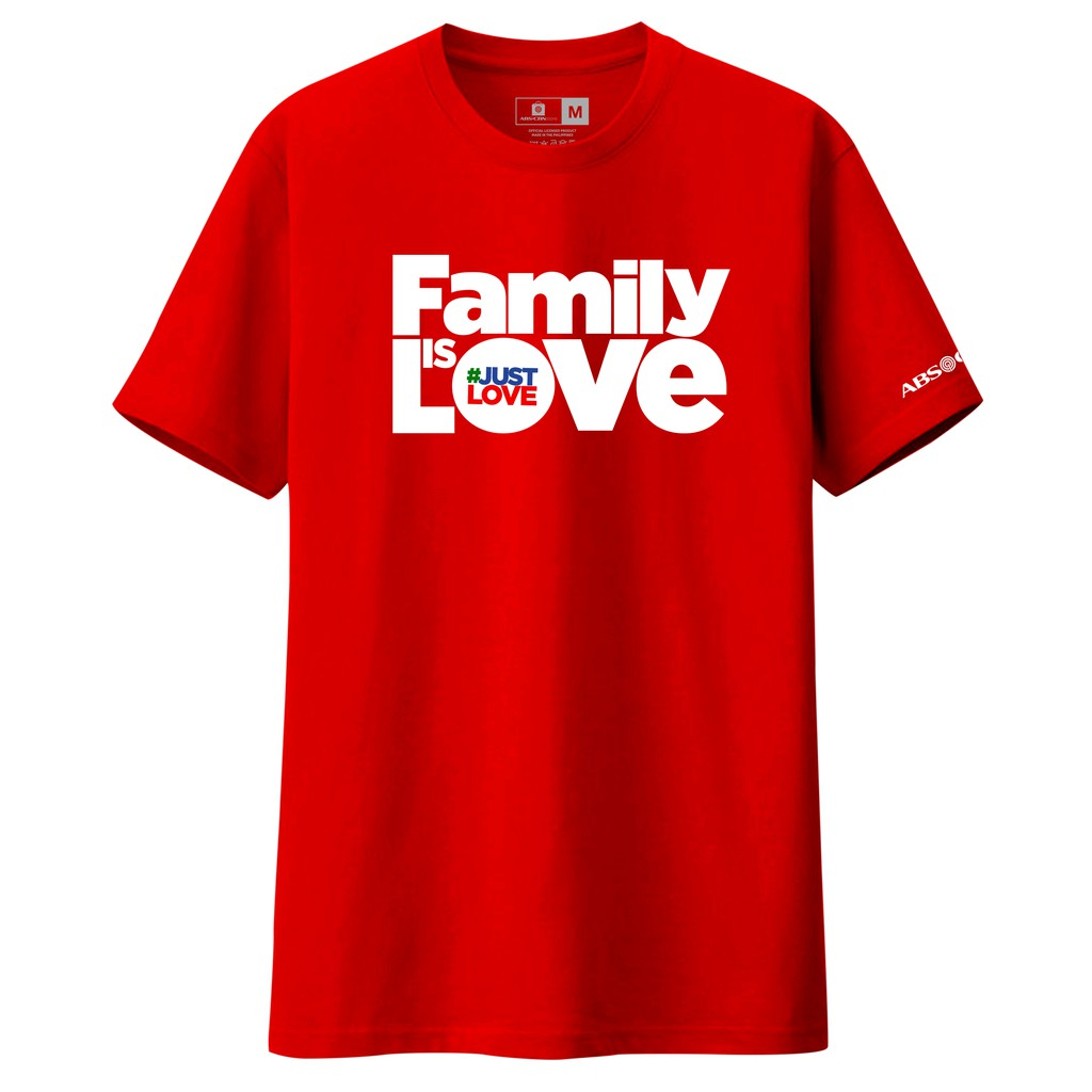ed1c85b62f Family Is Love Shirt RED | Shopee Philippines
