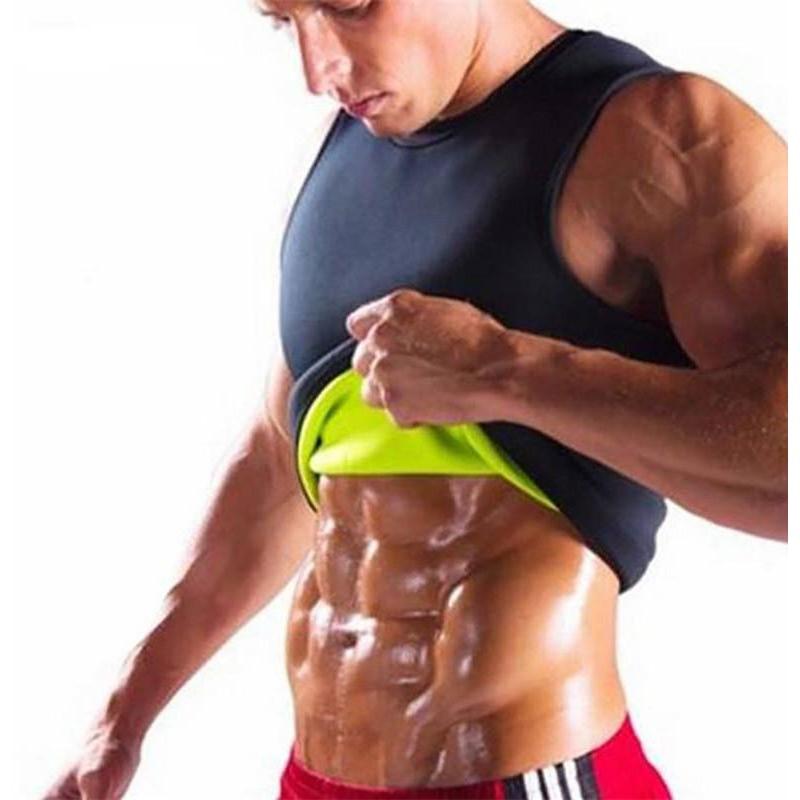 053efd8195 Men Gym Vest Body Shaper Sports Top Slimming Waist Trainer