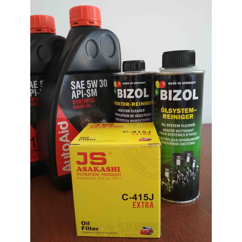 Full Synthetic Oil Change >> Autoaid Fully Synthetic Oil Change Kit For Honda Mitsubishi