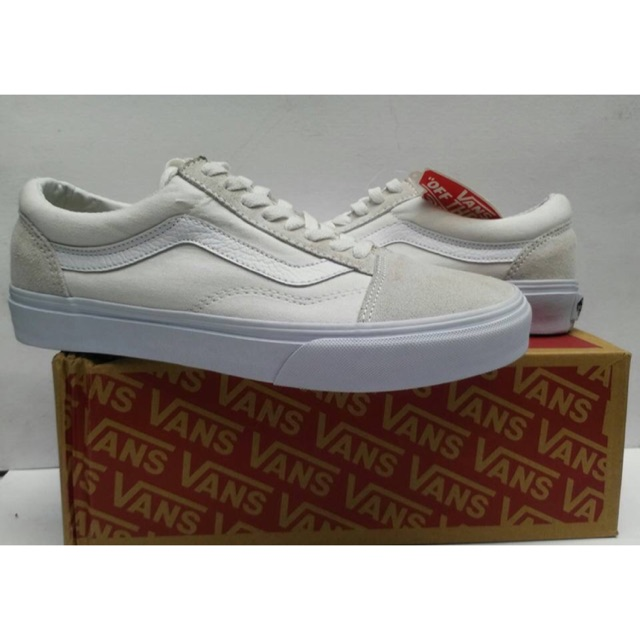 Vans Oldskool US MADE (all white) OEM