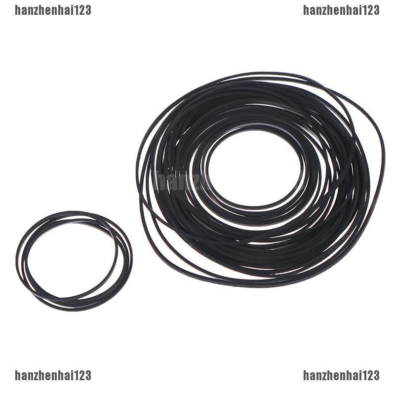 Rubber#pulley transmission engine drive round belts for toy module car motor MO