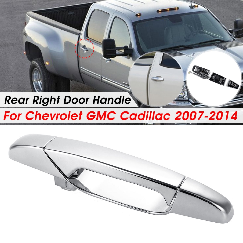 Chrome Outer Front Passenger Side Door Handle for 2007-2013 Cadillac Escalade