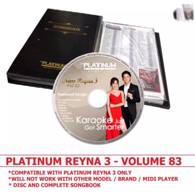 PLATINUM REYNA 3 CD /SONGBOOK (original)