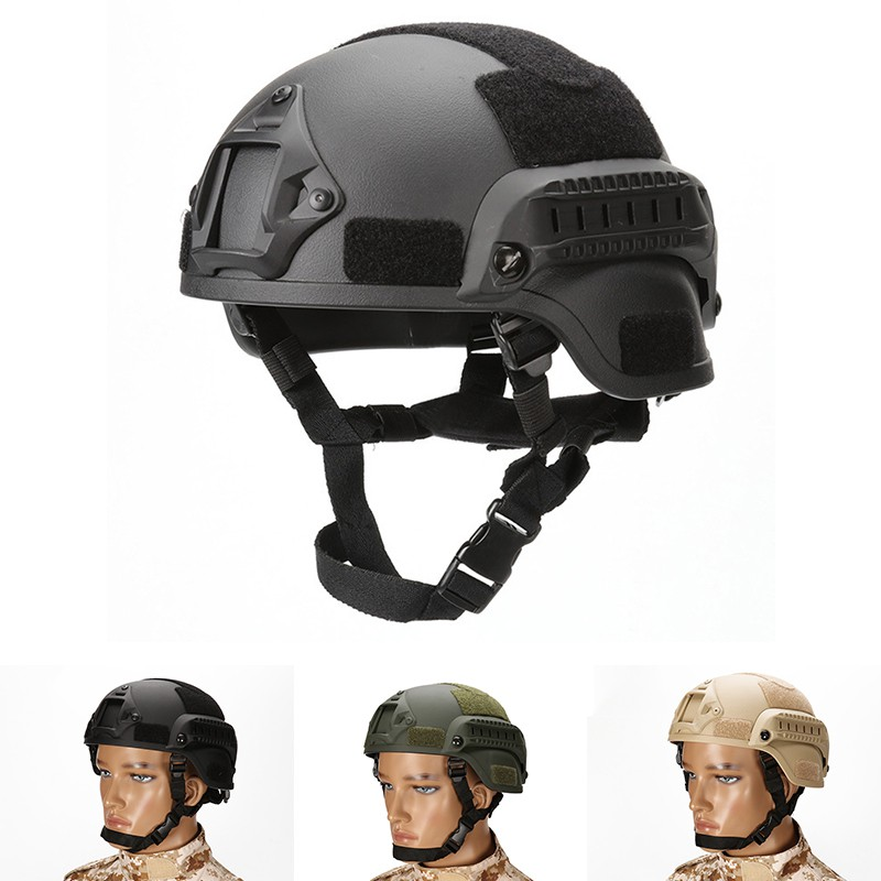 [WL-Z] Adjustable Tactical Helmet Airsoft Gear Paintball | Shopee Philippines