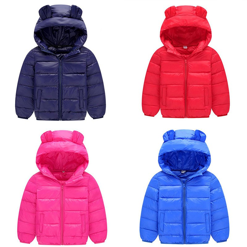 99015fabc Baby Autumn Winter Hooded Coat Children Warm Faux Fur Jacket ...
