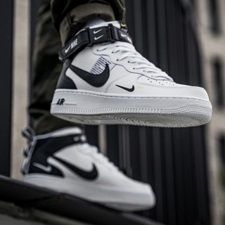 Los Angeles oszczędzać popularna marka Nike Air Force 1 MID Low High Cut Sneaker Men Shoes