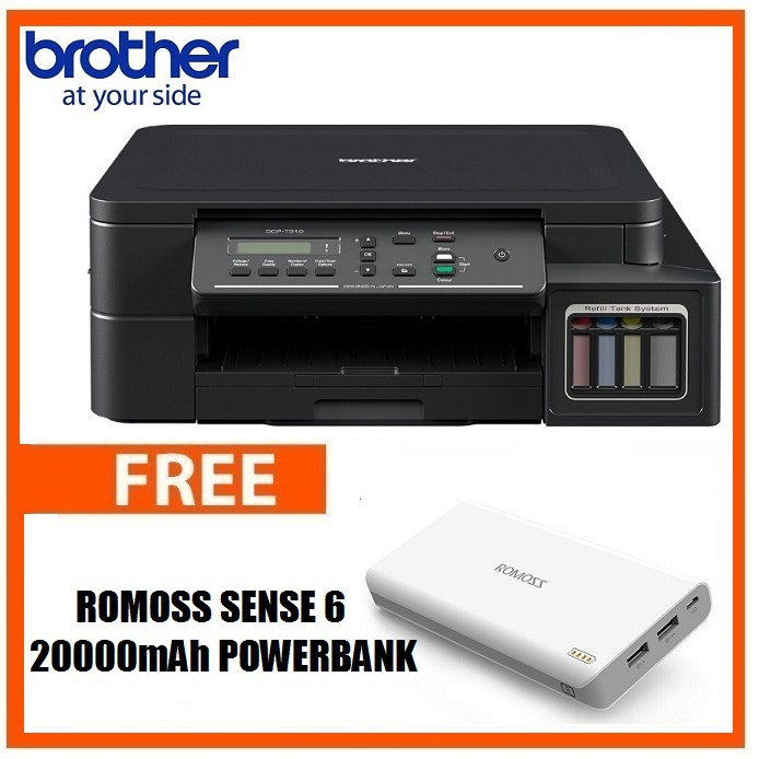 Brother DCP T310 3-in-1 Printer w/free Sense 6 Power Bank