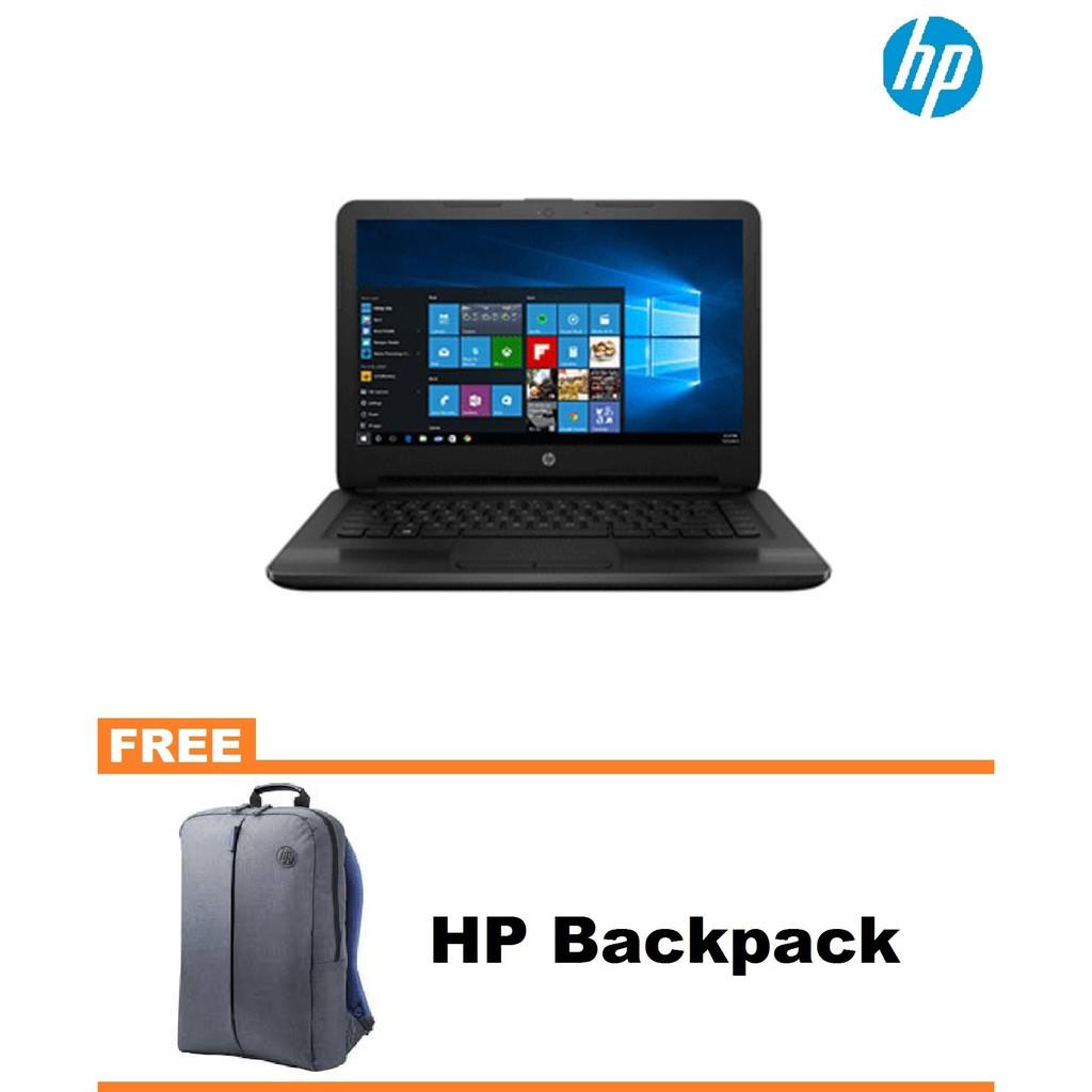 Hp Notebook 14 Cm0093au Amd A4 9125 500gb Win10 Shopee Philippines