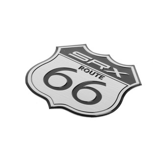 87baeee13f62 3D Car Emblem Badge Sticker Decal Metal Route 66 For Cadillac US SRX Ford |  Shopee Philippines