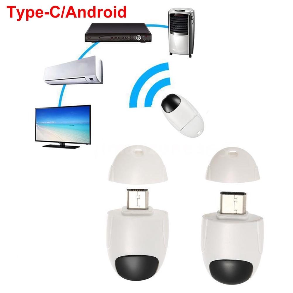 Plastic Universal White Remote Control For Smartphone