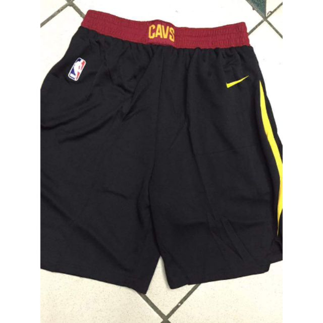 reputable site eb6af b7afa Nike Cleveland Cavaliers Jersey Shorts Replica