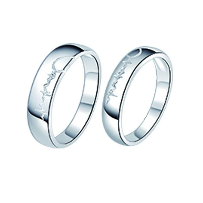 0f796f7842 Tata silver 92.5%Italy silver genuine couple rings/ for 1pc | Shopee  Philippines