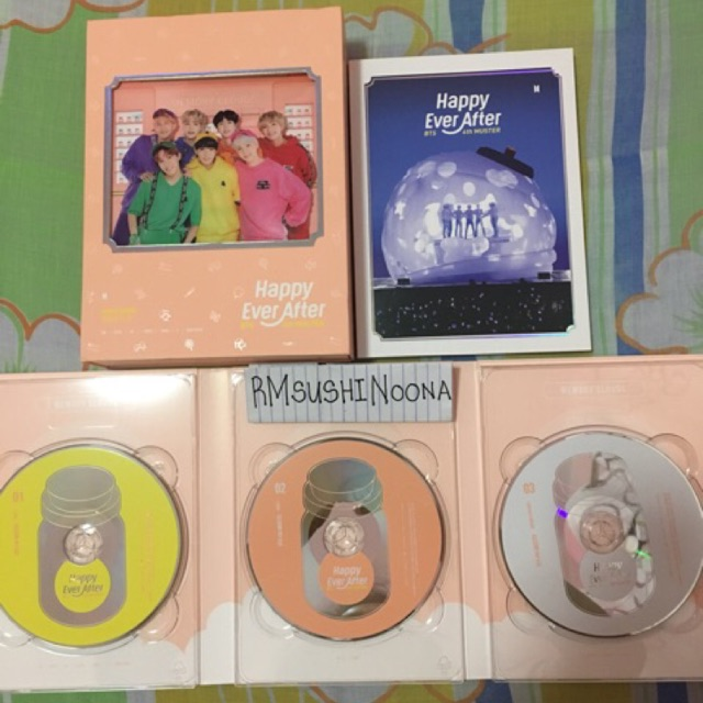 [ONHAND] BTS 4Th Muster DVD (tingi or set)