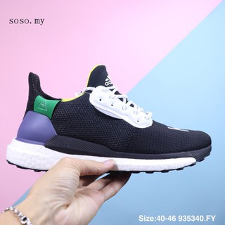 new product 11429 60462 ADIDAS PW HU HOLI SOLAR BOOST 2018 men shoes running shoes ...