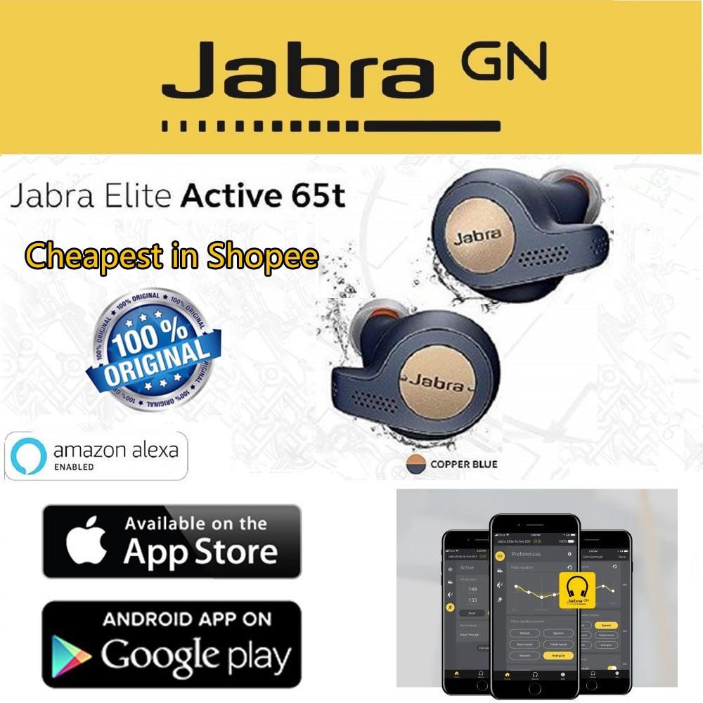 Jabra Elite Active 65t Earbuds Charging Case 1-year-warranty